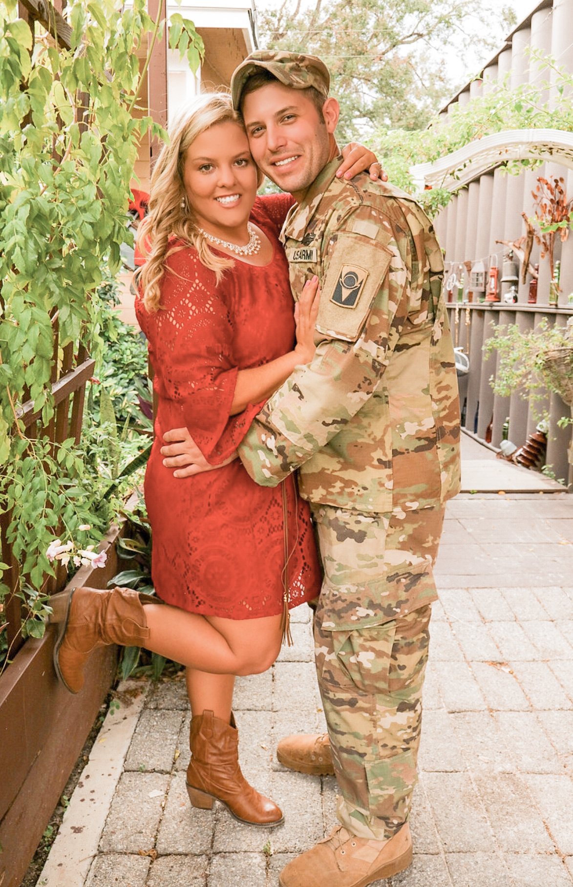 Emerging Doctor and Military Wife, Jenna Cuccionilli